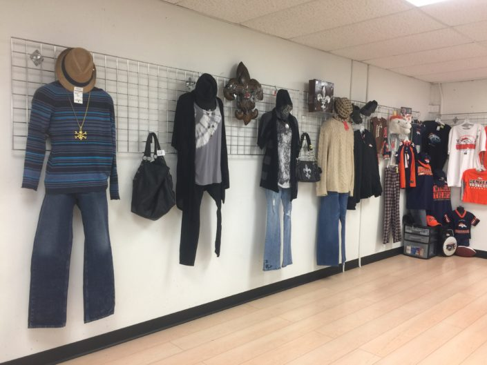 fashion for sale at thrift store in denver