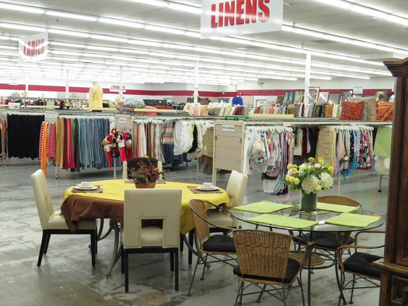 Beautiful Furniture And Linens In Denver Thrift Store
