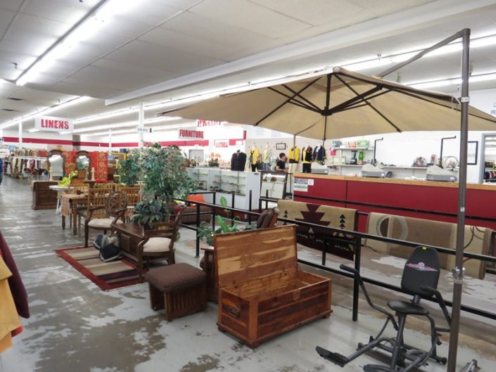 home and outdoor furniture at denver thrift store