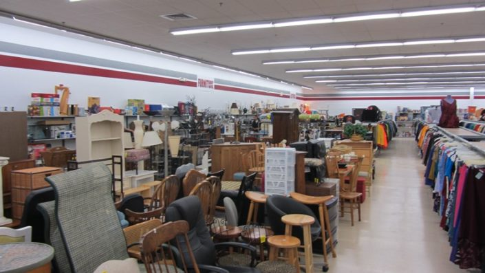 furniture for sale at thrift store in waterbury