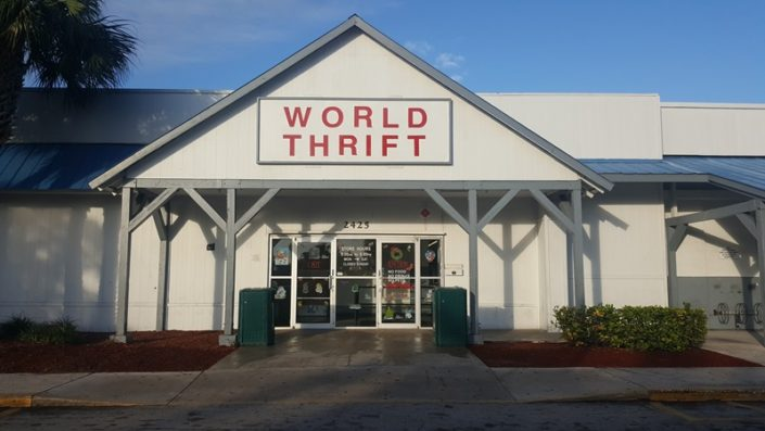 thrift store in lake worth store front
