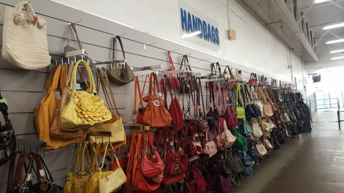 handbags for sale at thrift store in lake worth