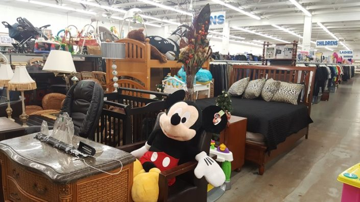 furniture for sale at thrift store in lake worth