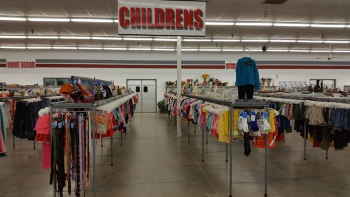children's and baby clothing for sale at jacksonville thrift store