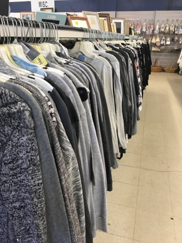 women's sweaters for sale at pittsburgh thrift store