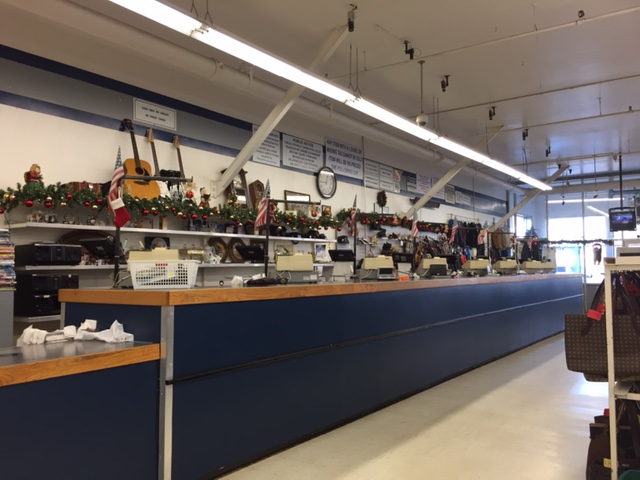 registers at thrift store in trenton